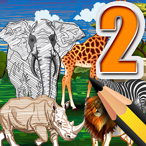 ANIMAL COLORING KINGDOM AR 2